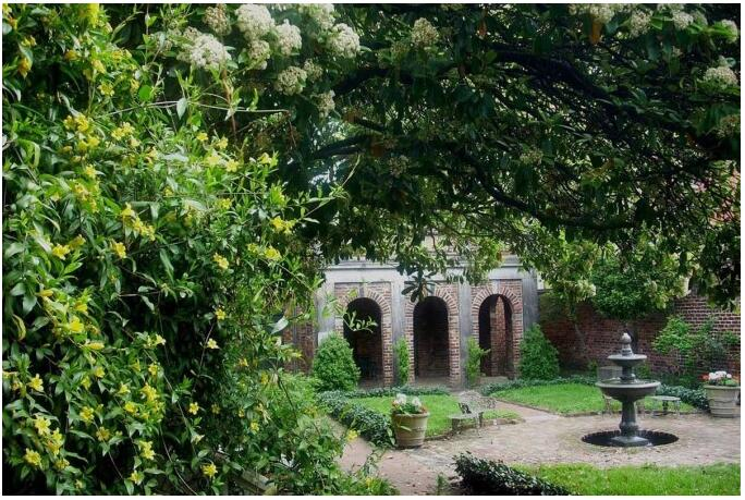 The Enchanted Garden, Poe Museum, Richmond
