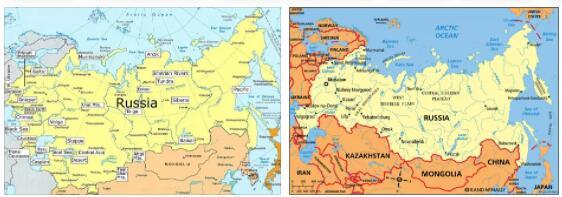 Russia Morphology